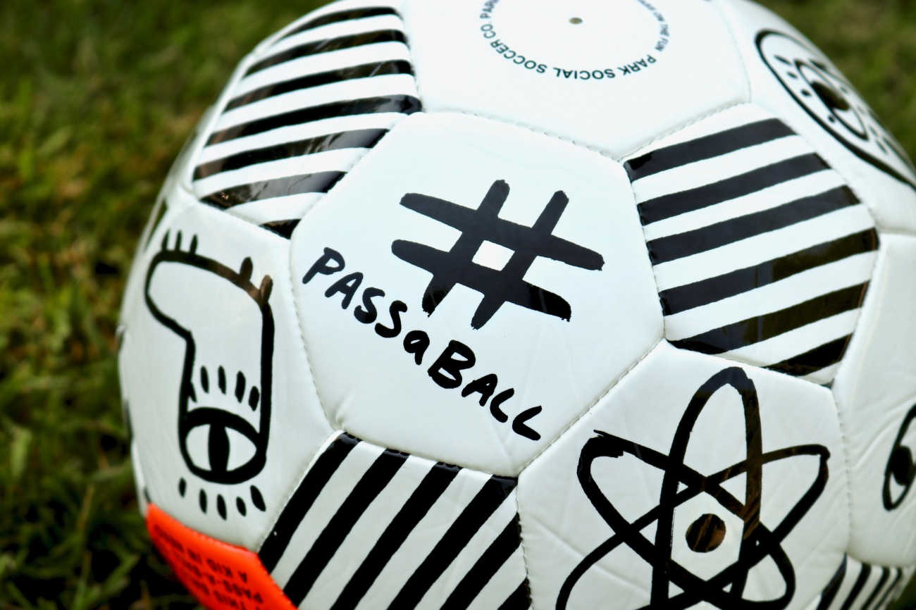 PARK Pass A Ball Soccer Ball review one for one buy this ball and pass a ball to a kid in need World Cup
