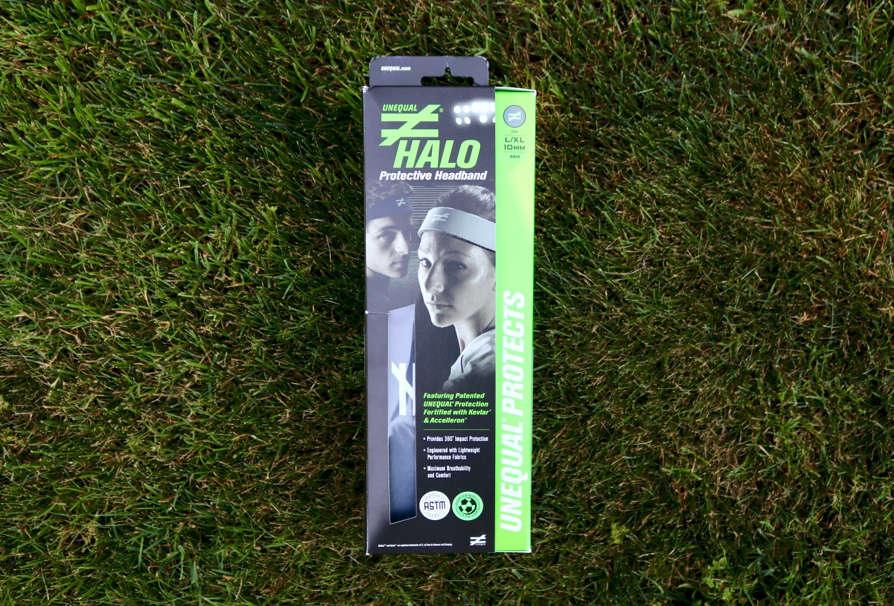 soccer sports concussion headgear headband protection unequal halo review