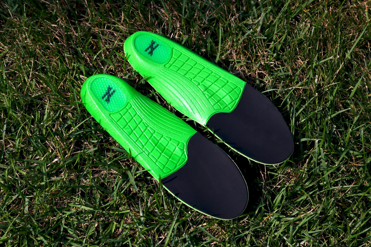Unequal protective cushioning action contact sports insoles soccer football lacrosse comfortable cushioned